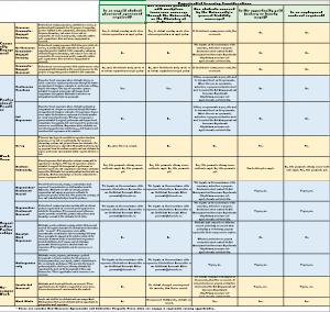 Experiential Learning Risk Management Matrix
