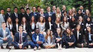 Master of Science in Sustainability Management program, class of 2020